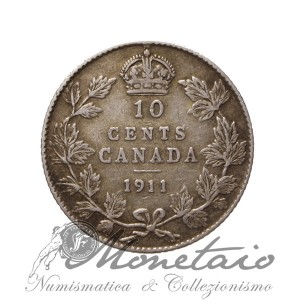 10 Cents 1911
