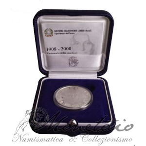 "5 Euro 2008 ""Anna Magnani"" Proof"