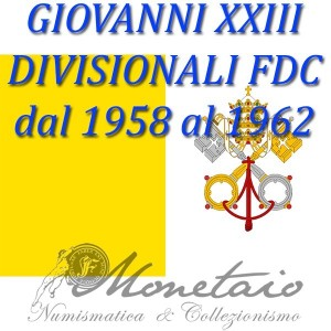 Divisional 1959 / 1962 FDC