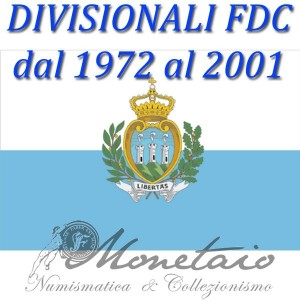 Divisional 1972 / 2001 FDC