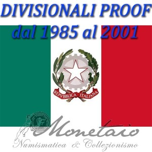Divisionali 1985-2001 Proof