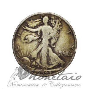 "1/2 Dollaro 1944 D ""Walking Liberty"""
