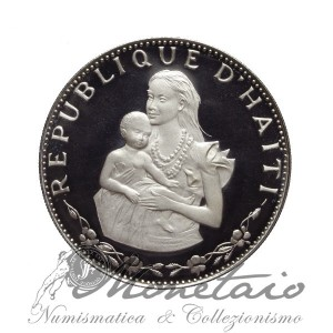 "50 Gourdes 1973 IC ""Woman and Child"""