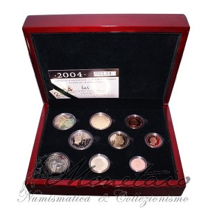 Teil Euro 2004 Proof Luxembourg
