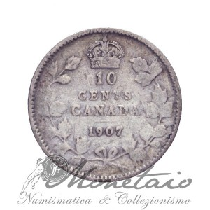 10 Cents 1907