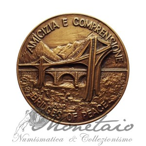 "Medaglia ""Amicizia e Comprensione - Bridges of Peace"""