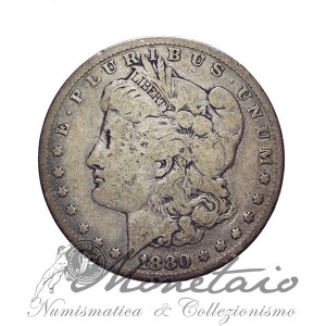 "1 Dollaro 1880 ""Morgan"" O"