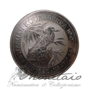 10 Dollari 1992 Kookaburra Proof