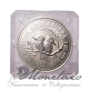 1 Dollaro 1994 Kookaburra Proof