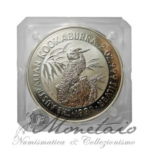 2 Dollari 1992 Kookaburra Proof