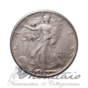 "Half Dollar 1943 ""Walking Liberty"""