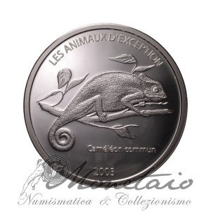 10 Francs 2003 Chameleon Proof
