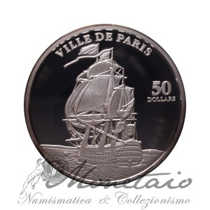 "50 Dollars 1998 ""Ville de Paris"""
